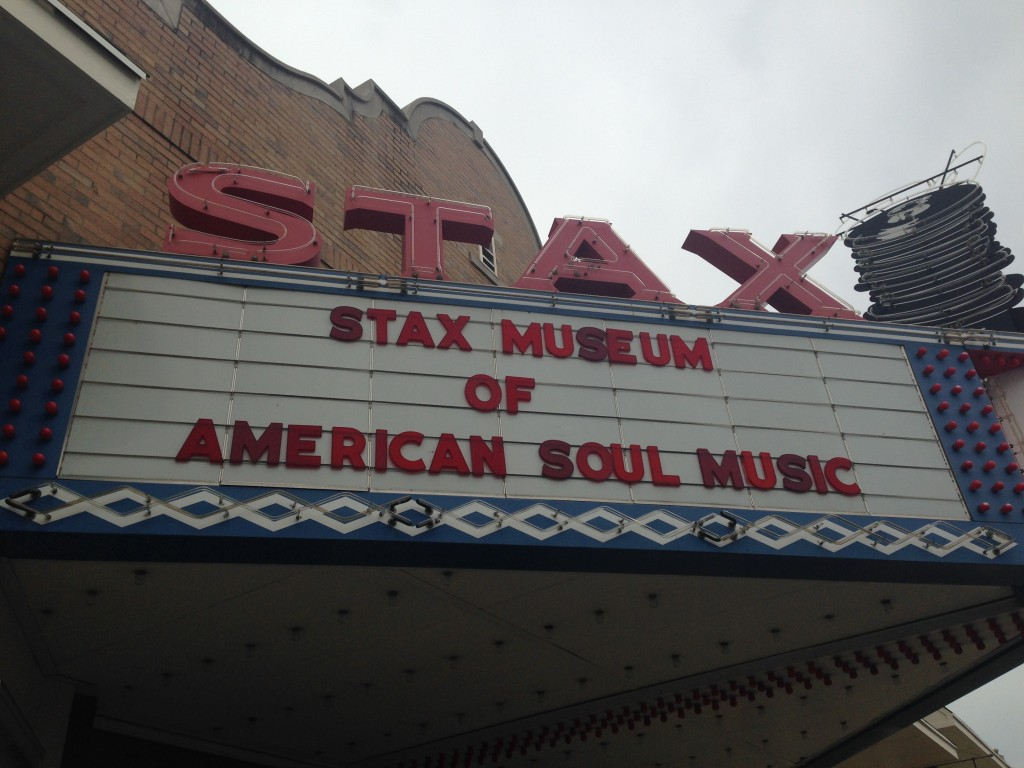 The entrance, Stax museum