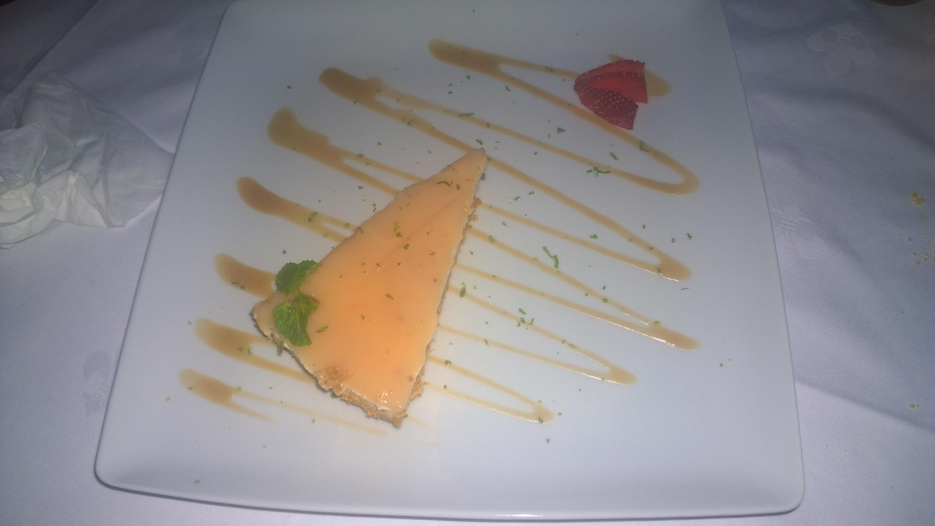 Cheesecake de mucua