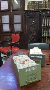 Research at Instituto Cubano de Anthropologia