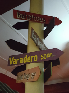 Only 50km from Cape Town, South Africa to Varadero, Cuba: good to know such shortcut!