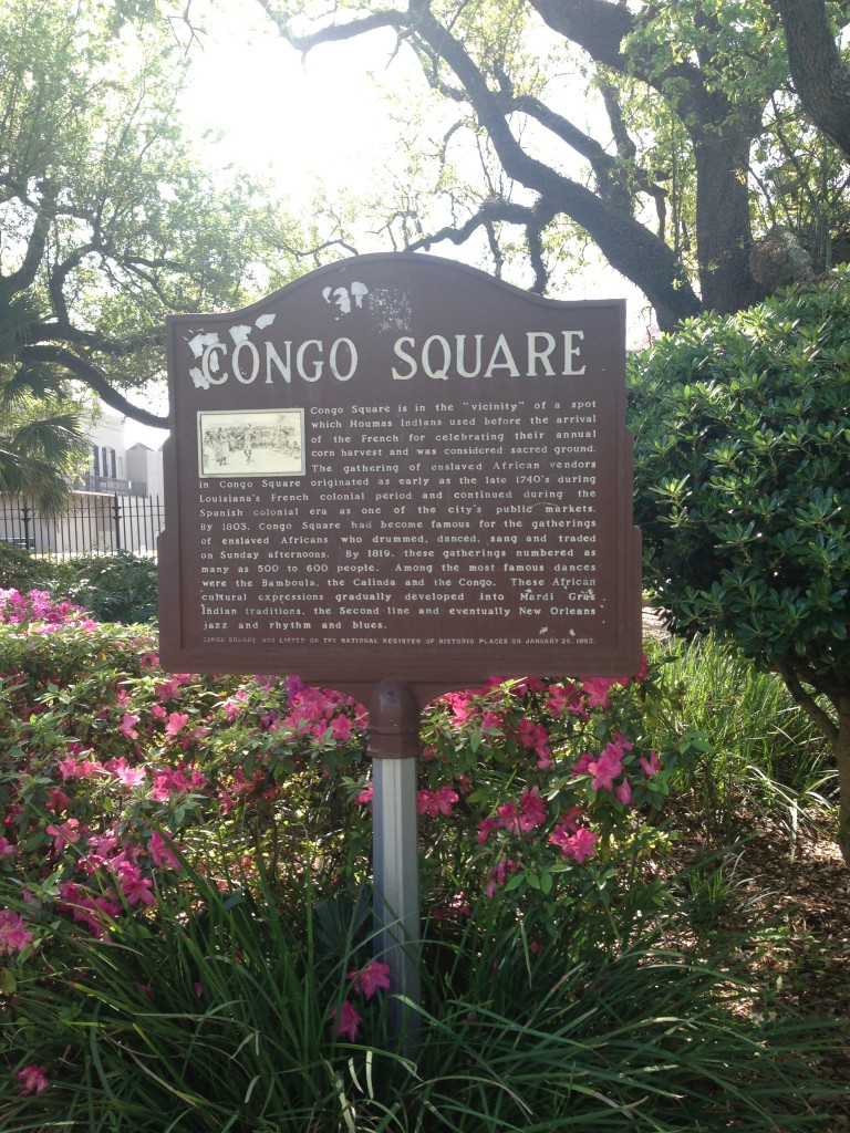 Congo Square, New Orleans. Photo courtesy of Ananya Kabir