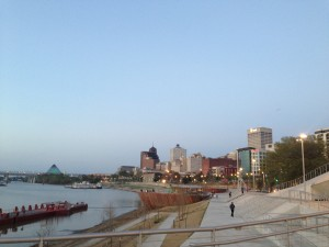 Memphis waterfront. Image courtesy of Ananya Kabir