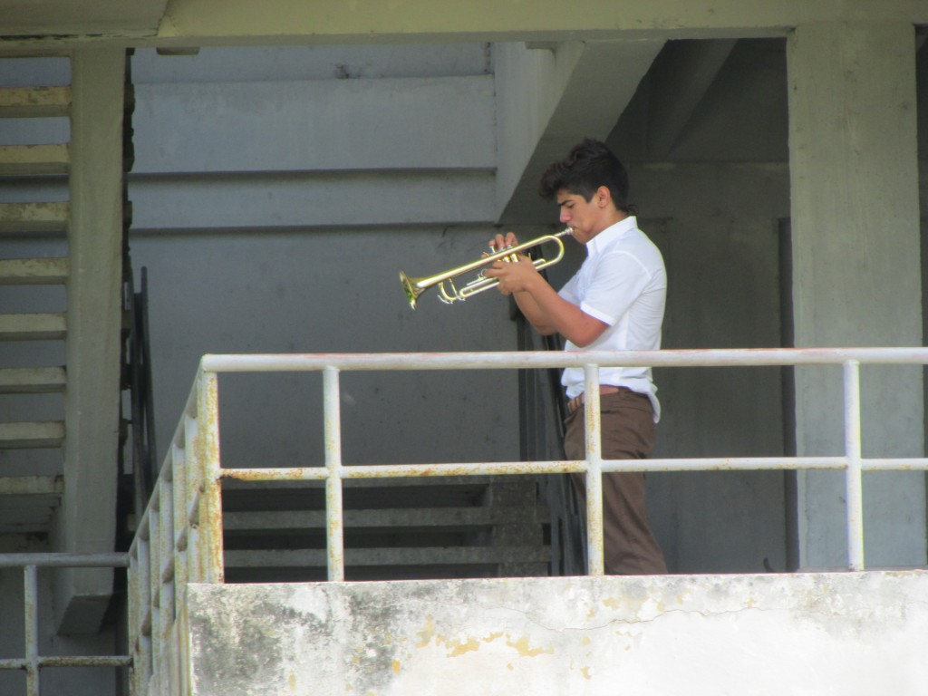 Photo 2 - Young student rehearsing, Facultad de Musica