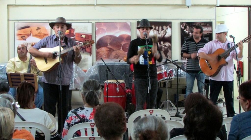 Photo 5- Concert of Cuban music