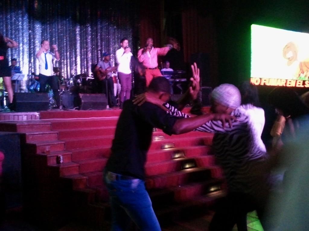 Photo 6- Couple dancing during NG La banda's concert