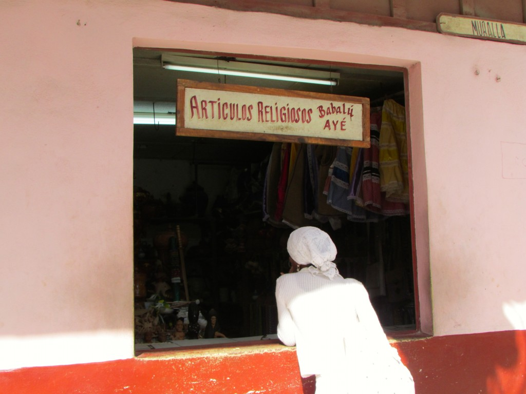 Photo 9- Religious items shop