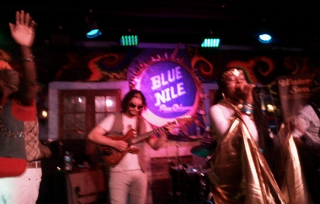 At Blue Nile on Frenchman Street - Photo courtesy of Elina Djebbari