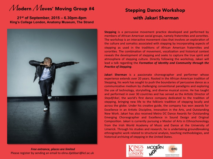 Stepping Dance Workshop