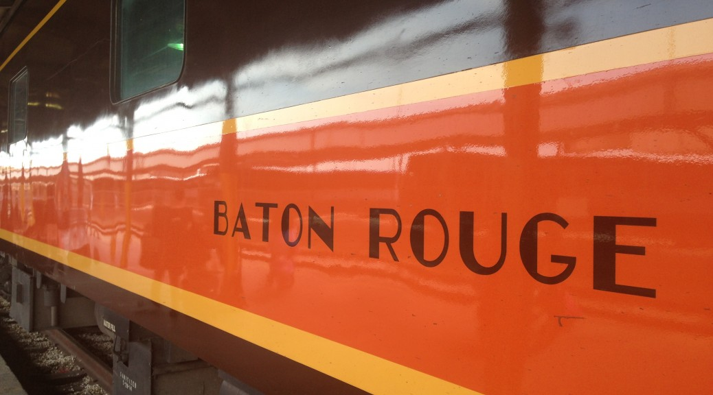 The train from New Orleans to Memphis. Image courtesy of Ananya Kabir