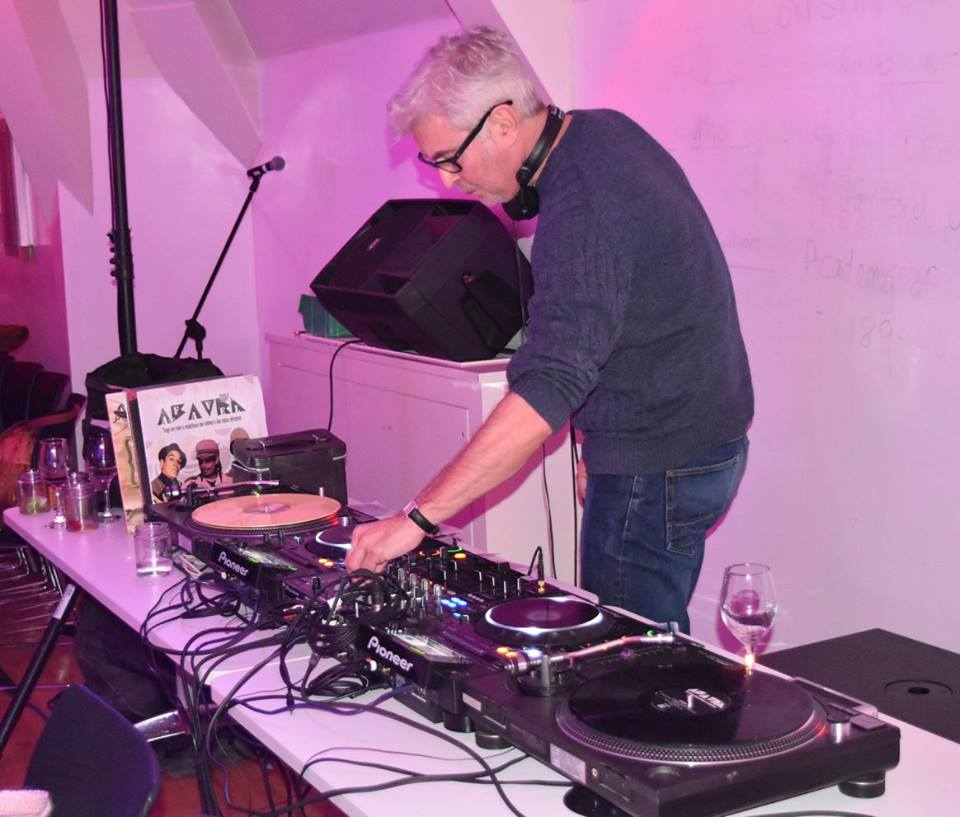 John Armstrong at the decks