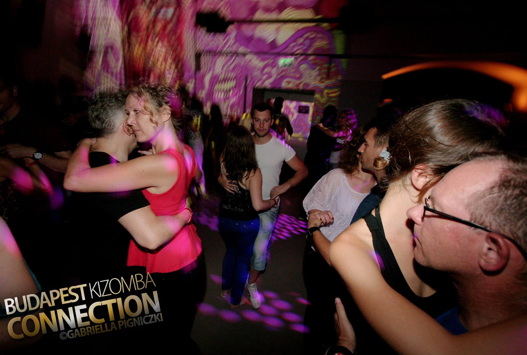 Couples dancing at the Budapest Kizomba Connection Festival, August 2015.  photo taken from the BKC Facebook page.