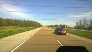 On the road to East St Louis. Image courtesy of Livia Jimenez Sedano